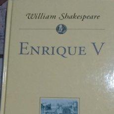 Libros de segunda mano: ENRIQUE V. Lote 194647707