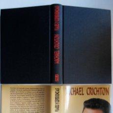 Libros de segunda mano: CHRICHTON. VIAJES Y EXPERIENCIAS, LA BIO DEL AUTOR DE PARQUE JURÁSICO.1ª EDICIÓN. INTACTO. MICHAEL. Lote 194653606