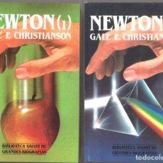 Libros de segunda mano: NEWTON. BIOGRAFÍA. DOS TOMOS. Lote 194687761