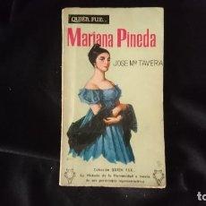 Libros de segunda mano: MARIANA PINEDA. Lote 194693295