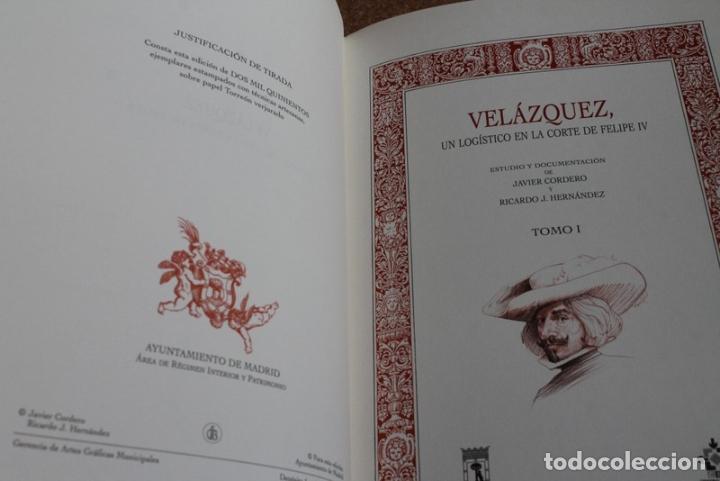 VELÁZQUEZ, UN LOGÍSTICO EN LA CORTE DE FELIPE IV. TOMO I. (Libros de Segunda Mano - Biografías)