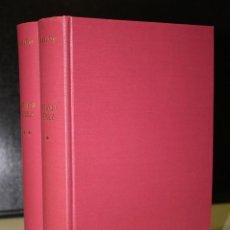 Libros de segunda mano: ANTONIO PÉREZ. (EL HOMBRE, EL DRAMA, LA ÉPOCA.). OBRA COMPLETA, VOLÚMENES I Y II.. Lote 194716296