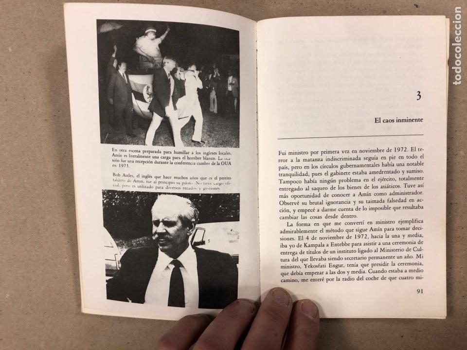 Libros de segunda mano: UN ESTADO SANGRIENTO. HENRY KYEMBA. GRIJALBO 1978. LA HISTORIA SECRETA DE IDI AMIN. - Foto 5 - 194876697