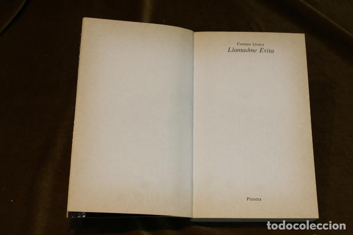 Libros de segunda mano: Llamadme Evita,Carmen Llorca,Editorial Planeta,1980. - Foto 2 - 194879002