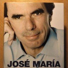 Libros de segunda mano: MEMORIAS I, JOSÉ MARÍA AZNAR, 2012, FIRMADO POR EL AUTOR. Lote 194893125