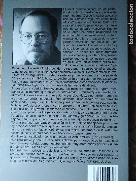 Libros de segunda mano: KUBRICK MICHAEL HERR - Foto 2 - 194893375