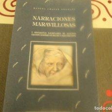 Libros de segunda mano: NARRACIONES MARAVILLOSAS Y BIOGRAFÍAS EJEMPLARES DE ALGUNOS GRANDES HOMBRES. Lote 194937852