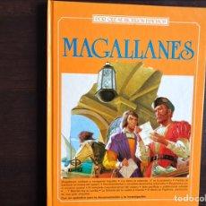 Libros de segunda mano: MAGALLANES. GALILEO. MARIE CURIE. POR QUÉ SE HICIERON FAMOSOS. TRES LIBROS. Lote 194979760