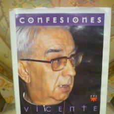 Libros de segunda mano: VICENTE ENRIQUE Y TARANCÓN: CONFESIONES. EDITORIAL PPC-SM, MADRID, 1ª EDICIÓN 1.996.. Lote 195052401