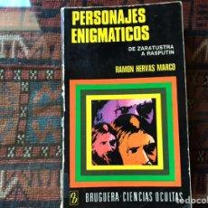 Libros de segunda mano: PERSONAJES ENIGMÁTICOS. DE ZARATUSTRA A RASPUTÍN. RAMÓN HERVÁS. Lote 195060330