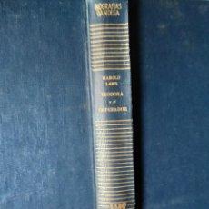 Libros de segunda mano: HAROLD LAMB - TEODORA Y EL EMPERADOR. EL DRAMA DE JUSTINIANO. GANDESA 1ª EDICION 1954. Lote 195066626