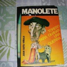 Libros de segunda mano: MANOLETE , JUAN SOTO VIÑOLO. Lote 195118326