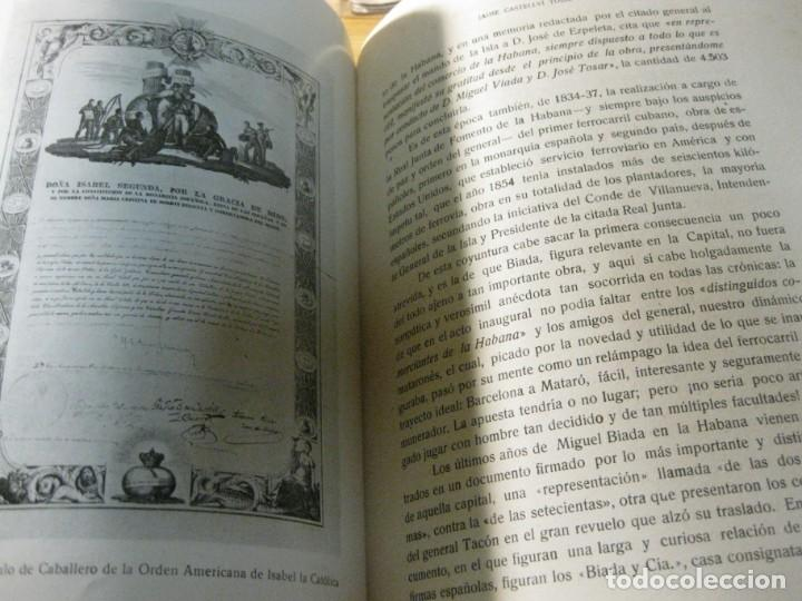 Libros de segunda mano: biografia de miguel biada bunyol . propulsor de el carrilde mataro primer tren en españa 1947 - Foto 5 - 195148230