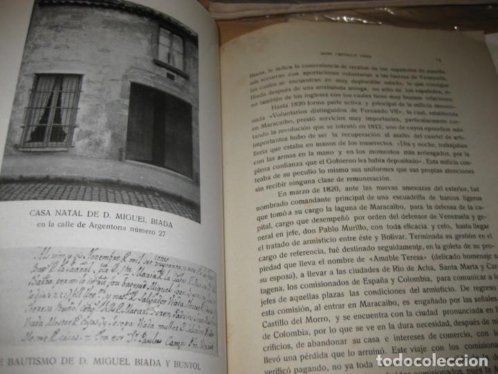 Libros de segunda mano: biografia de miguel biada bunyol . propulsor de el carrilde mataro primer tren en españa 1947 - Foto 7 - 195148230