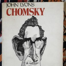 Libros de segunda mano: JOHN LYONS . CHOMSKY. Lote 195161227