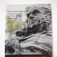 Libros de segunda mano: EL MARQUÉS DE CAMPO. EMPRESARIO, POLÍTICO Y COLECCIONISTA DE OBRAS DE ARTE. Lote 195166467