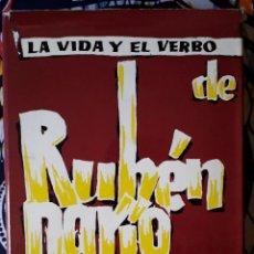 Libros de segunda mano: BERNARDINO DE PANTORBA . LA VIDA Y EL VERBO DE RUBÉN DARÍO. ENSAYO BIOGRÁFICO Y CRÍTICO. Lote 195166836