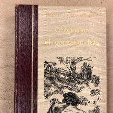 Libros de segunda mano: CHOPERENA EL CONTRABANDISTA. MIGUEL PELAY OROZCO. LA GRAN ENCICLOPEDIA VASCA 1973. ILUSTRADO. Lote 195184247