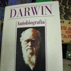 Libros de segunda mano: DARWIN, AUTOBIOGRAFÍA. L.17025-171. Lote 195184935
