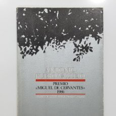 Libros de segunda mano: ANTONIO BUERO VALLEJO. PREMIO MIGUEL DE CERVANTES 1986. VVAA. Lote 195244273