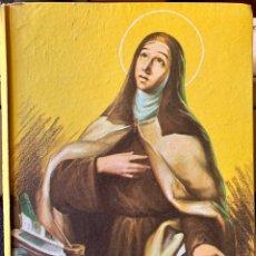 Libros de segunda mano: 1959, 1ª EDICIÓN. SANTA TERESA DE JESÚS. MARÍA LUISA MORA. COLECCIÓN JUVENIL FERMA. Lote 195267832