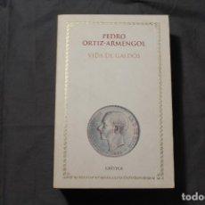 Libros de segunda mano: VIDA DE GALDÓS. PEDRO ORTIZ-ARMENGOL. Lote 195337921
