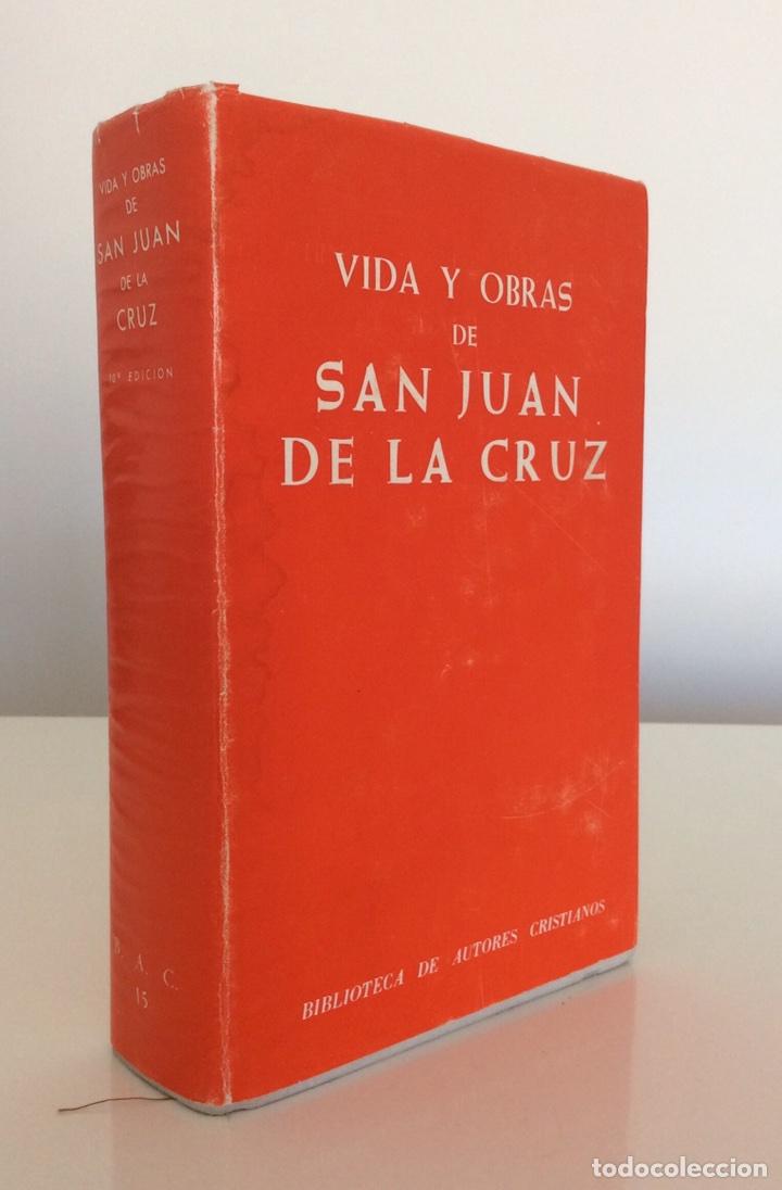 VIDA Y OBRAS DE SAN JUAN DE LA CRUZ. CRISOGONO DE JESUS. BIBLIOTECA DE AUTORES CRISTIANOS BAC. 1978 (Libros de Segunda Mano - Biografías)
