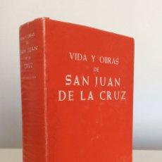 Libros de segunda mano: VIDA Y OBRAS DE SAN JUAN DE LA CRUZ. CRISOGONO DE JESUS. BIBLIOTECA DE AUTORES CRISTIANOS BAC. 1978. Lote 195340368