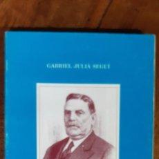 Libros de segunda mano: ANTONI CURSACH. UN CIUTADELLENC DE COR A L'ARGENTINA. GABRIEL JULIÁ SEGUÍ. MENORCA 1993. Lote 195352566