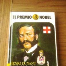 Libros de segunda mano: EL PREMIO NOBEL Nº 12 HENRI DUNANT FUNDADOR DE LA CRUZ ROJA EDICIONES AURIGA 1982. Lote 195394426