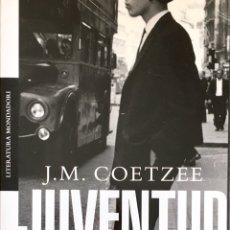 Libros de segunda mano: JUVENTUD, MEMORIAS. J.M.COETZEE. Lote 195397511