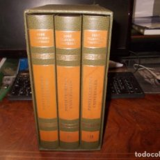Libros de segunda mano: PONTEVEDRESES UNIVERSALES, DÍA DE LA HISPANIDAD, JOSÉ FILGUEIRA VALVERDE. 3 TOMOS CON ESTUCHE. 2.000. Lote 195403713