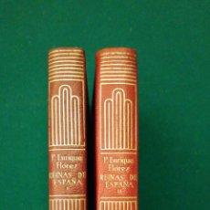 Libros de segunda mano: REINAS DE ESPAÑA. CRISOL. AGUILAR. TOMOS 1 Y 2. Lote 195439017