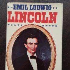Libros de segunda mano: EMIL LUDWIG: LINCOLNC(EDITORIAL JUVENTUD) (TAPA DURA). Lote 195484298
