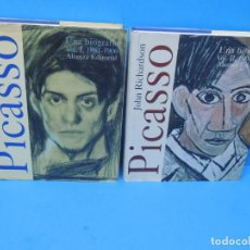 Libros de segunda mano: PICASSO UNA BIOGRAFIA. (2 VOL.OBRA COMPLETA ) .- RICHARDSON, JOHN. Lote 195486426