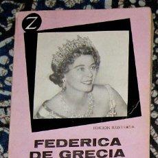 Libros de segunda mano: FEDERICA DE GRECIA INGE SANTNER . Lote 195521727