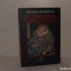 Libros de segunda mano: MICHAEL MOORCOCK, GLORIANA O LA REINA INSATISFECHA - MARLOW - COMO NUEVO. Lote 195548756