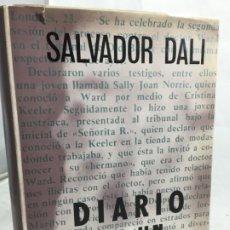 Libros de segunda mano: DIARIO DE UN GENIO, SALVADOR DALI, 1964 PRIMERA EDICION CARALT EDITOR. Lote 245173965