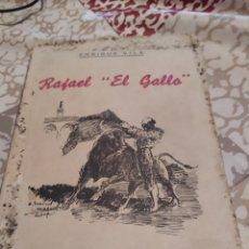 Libros de segunda mano: RAFAEL EL GALLO.1943. Lote 195890501