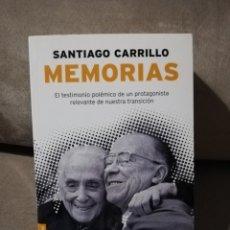Livros em segunda mão: SANTIAGO CARRILLO - MEMORIAS - PLANETA 2008. Lote 196285878