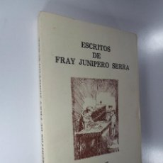 Libros de segunda mano: ESCRITOS DE FRAY JUNIPERO SERRA TOMO II 1984. Lote 196541845
