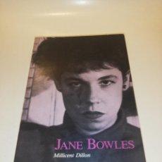 Livros em segunda mão: MILLICENT DILLON , JANE BOWLES. Lote 196559856