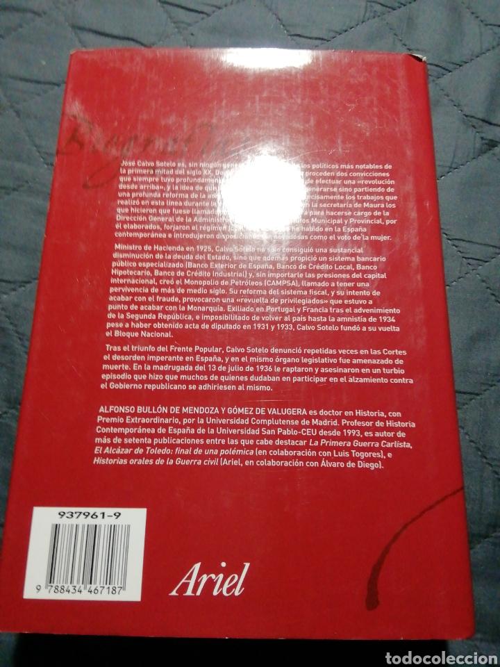 Libros de segunda mano: JOSÉ CALVO SOTELO. ALFONSO BULLON DE MENDOZA - Foto 3 - 198169592