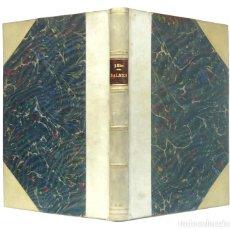 Libros de segunda mano: 1941 - BIOGRAFÍA DE JAIME BALMES - VIDA Y OBRA - JUAN RÍOS SARMIENTO - PERGAMINO - PRIMERA EDICIÓN. Lote 199375375