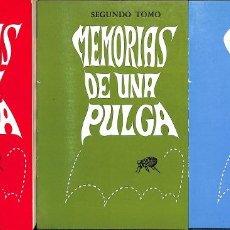 Libros de segunda mano: MEMORIAS DE UNA PULGA 3 TOMOS 1 , 2 , 3. Lote 199489131
