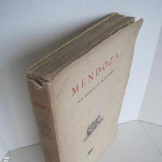 Libros de segunda mano: MENDOZA. VIDA EJEMPLAR DE UN INGENIERO. MADRID 1945. ASOCIACIÓN DE INGENIEROS DE CAMINOS Y PUERTOS.. Lote 199640000