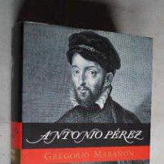 Livros em segunda mão: ANTONIO PÉREZ. GREGORIO MARAÑÓN. . Lote 199700997