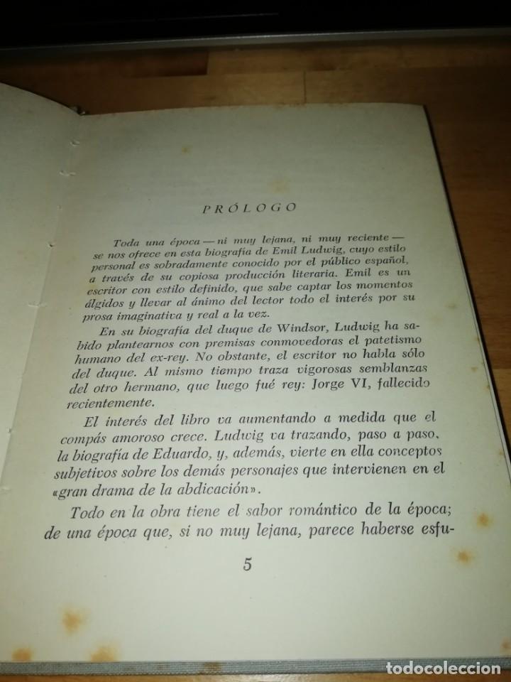 Libros de segunda mano: EMIL LUDWIG - LA VIDA NOVELESCA DE EDUARDO DUQUE DE WINDSOR - SÍMBOLO 1953 - ANTONIO C. GAVALDÁ - Foto 2 - 200081701