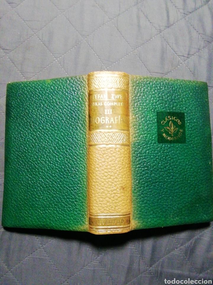 STEFAN ZWEIG. OBRAS COMPLETA III. BIOGRAFÍAS II. MARIA ESTUARDO/FOUCHE/ERASMO DE RÓTERDAM/ BALZAC (Libros de Segunda Mano - Biografías)
