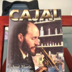 Libros de segunda mano: CAJAL-JOSE MARIA LOPEZ PIÑERO-EDITORIAL DEBATE PENSAMIENTO-1ª EDICION 2000-MUY BUEN ESTADO. Lote 201728195